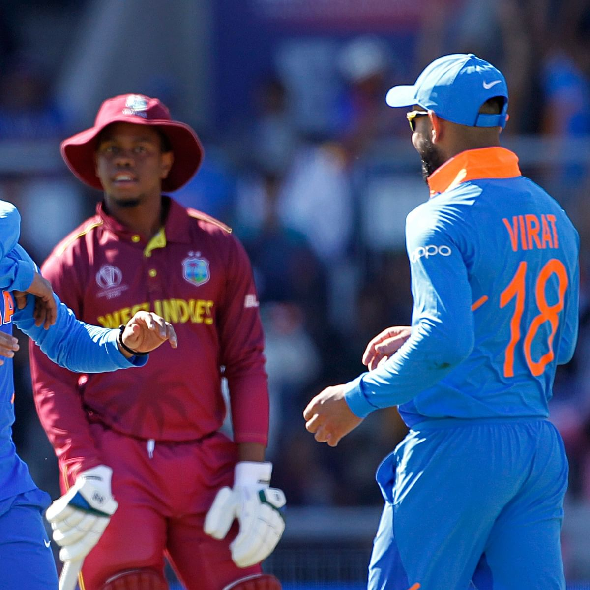 Cricket Score - West Indies vs India 3rd T20I