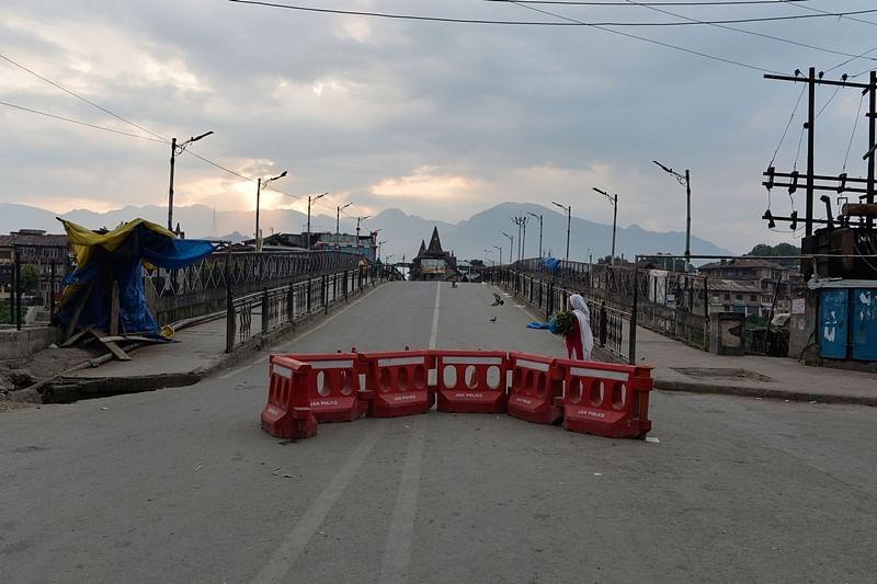 Schools reopen in Srinagar, but students missing