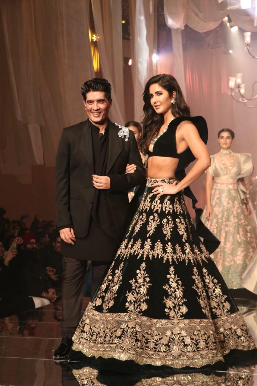Manish Malhotra opens Lakme Fashion Week Winter/Festive 2019 with Katrina Kaif