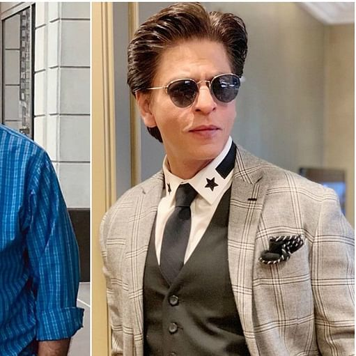 Shah Rukh Khan wishes his onscreen 'Daddy Cool' Anupam Kher on his anniversary