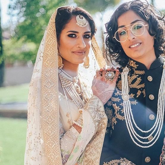 Indo-Pak lesbian couple tied knot in a fairy tale wedding