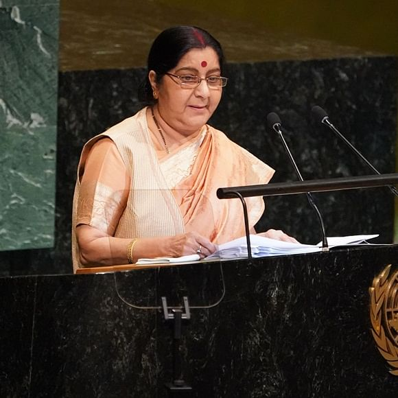 Delhi government announces two-day state mourning for Sushma Swaraj