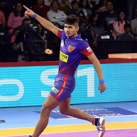 PKL 7: Naveen Kumar stars as Delhi beat UP Yoddha 36-27