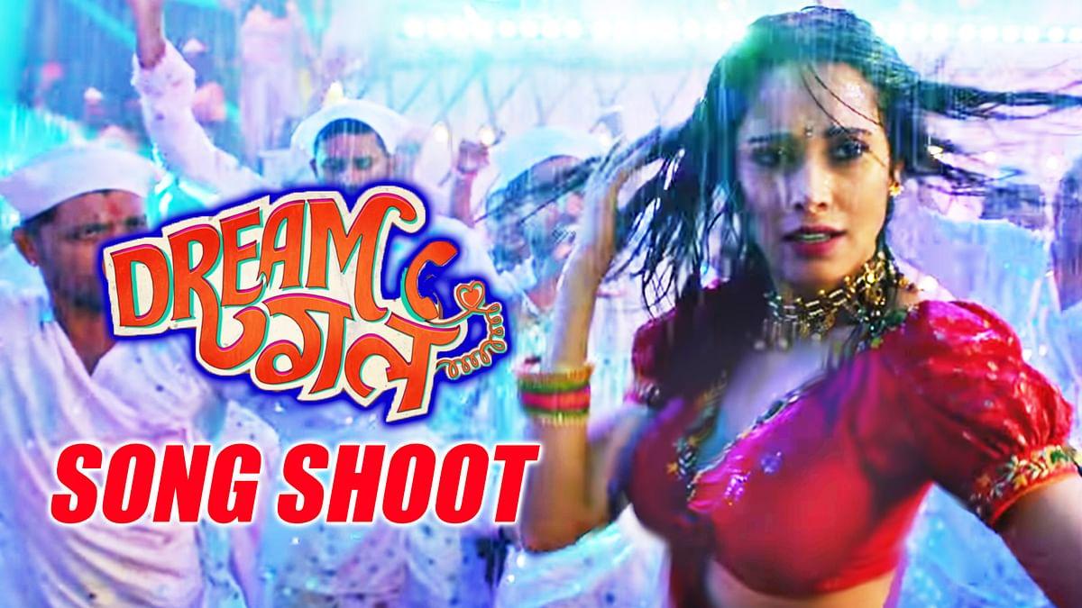 'Dhagala Lagali Kala' song shoot - Dream Girl | Ayushmann Khurana And Nushrat Bharucha
