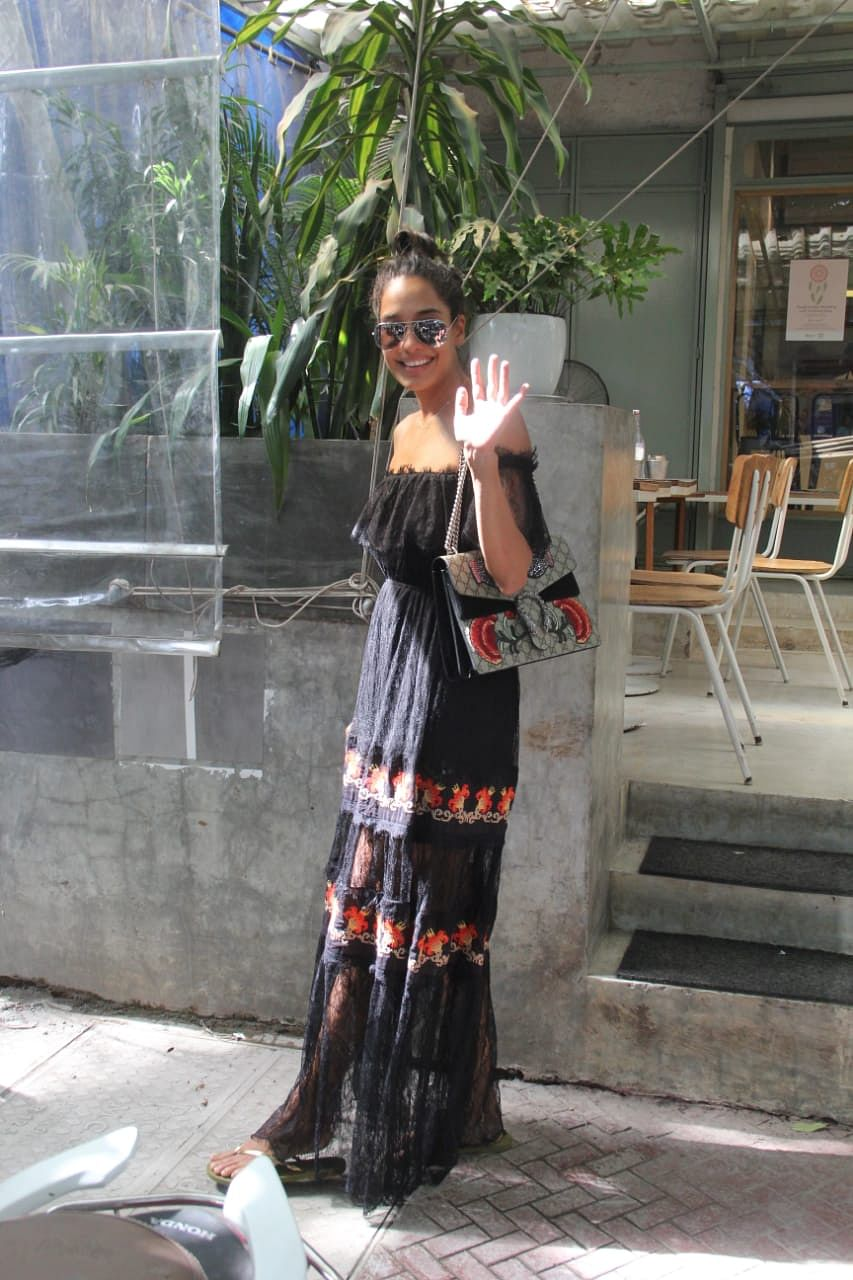 Lisa Haydon spotted at Kitchen Garden