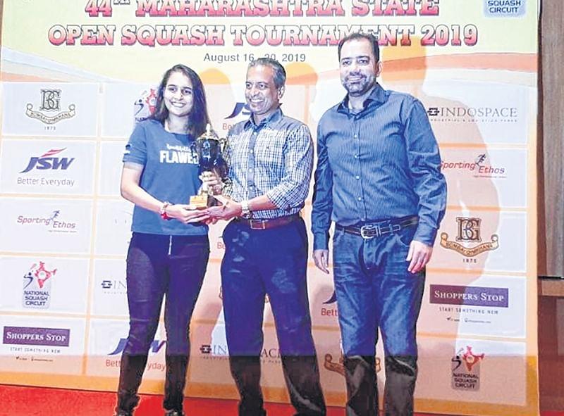 Maharashtra State Senior Open Squash Tournament; Mahesh Mangoankar supreme