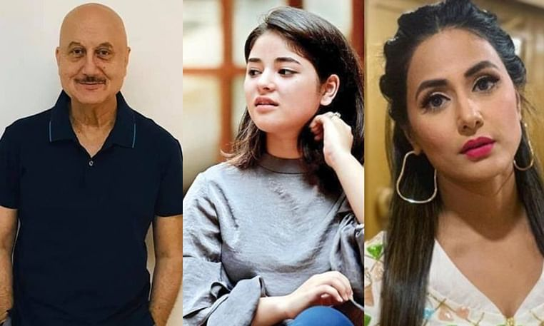 Kashmiri actors Zaira Wasim and Anupam Kher react to scrapping of Article 370