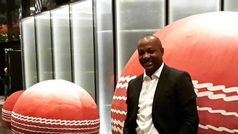 West Indies legend Brian Lara