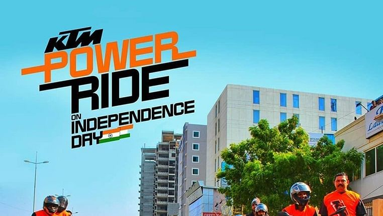 KTM Power Ride on Independence Day
