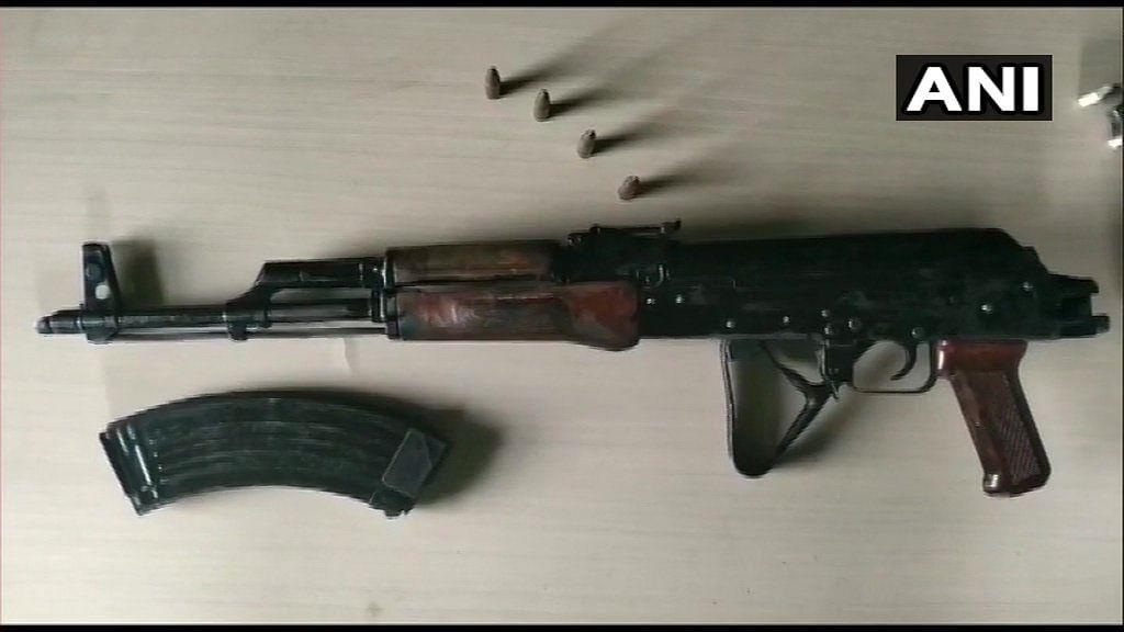 Live bullets, AK-47 seized from Bihar MLA's ancestral home
