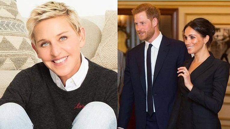 After John Elton, Ellen DeGeneres defends Prince Harry and Meghan Markle amid private jet criticism