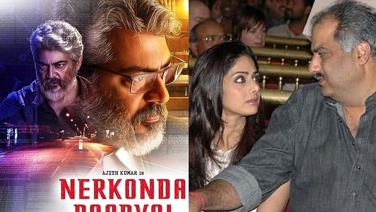 Managed to fulfill Sridevi's dream: Boney Kapoor on 'Nerkonda Paarvai' premiere