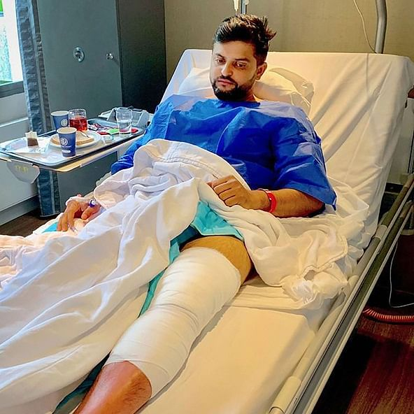 Second knee surgery was a tough call to make, says Suresh Raina