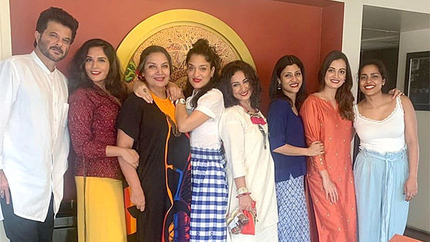 Shabana Azmi's house party was all about love and laughter!