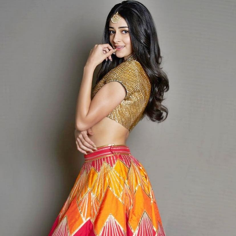 Ananya Panday turns showstopper for Anushree Reddy, Arpita Mehta at LFW 2019