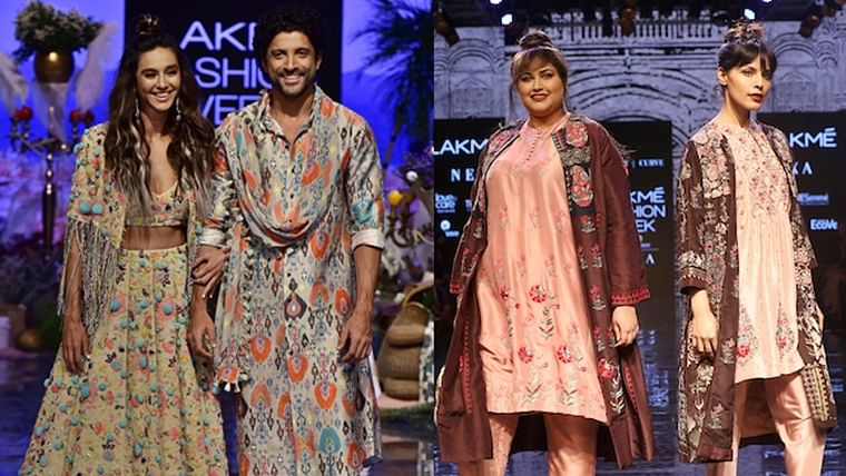 Highlights From Day 1 At Lakme Fashion Week Winter Festive 2019