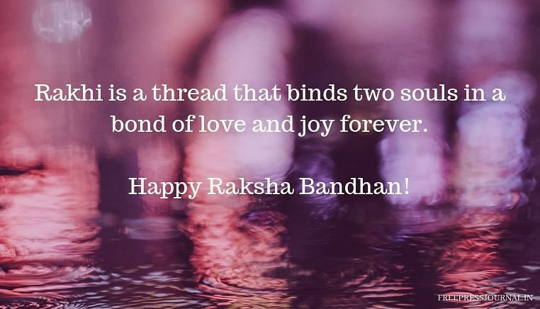 Raksha Bandhan 2019: Wishes, greetings, images to share on SMS, WhatsApp, Facebook and Instagram