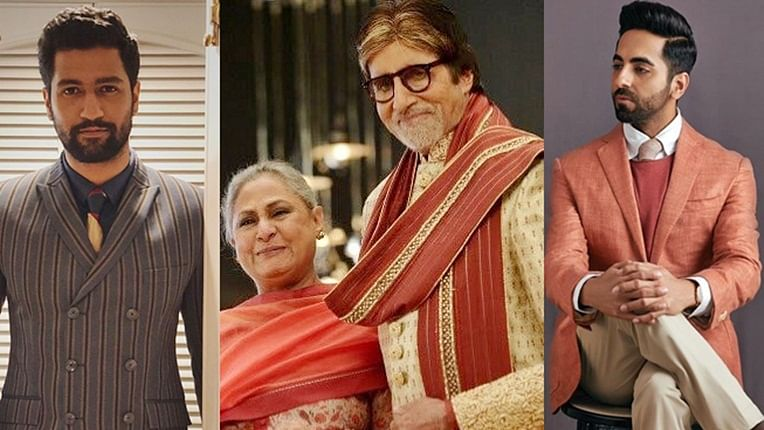 Ayushmann Khurrana, Vicky Kaushal receive special personalised wishes from Amitabh Bachchan