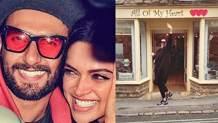 Deepika Padukone has all of Ranveer's heart in this cute boomerang video