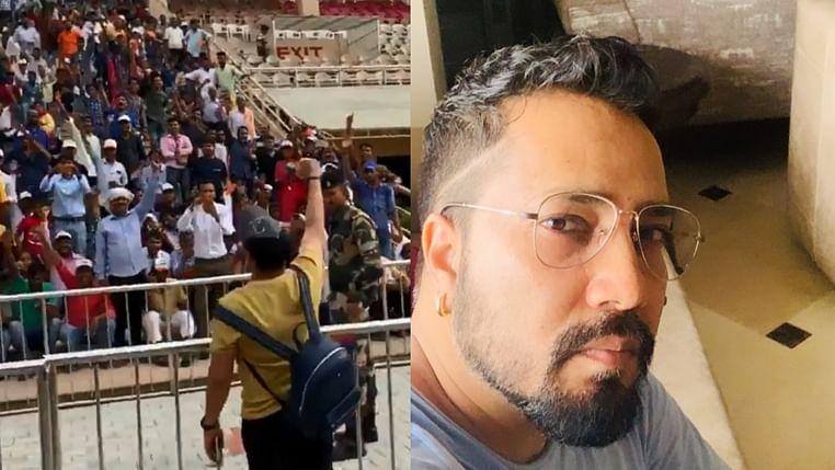 Post AICWA ban, Mika Singh chants 'Bharat Mata Ki Jai' as he returns from Pakistan