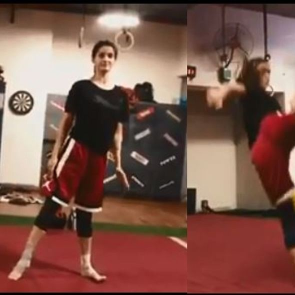 Watch Disha Patani ace tornado kick, fans claims its the 'Tiger Shroff effect'