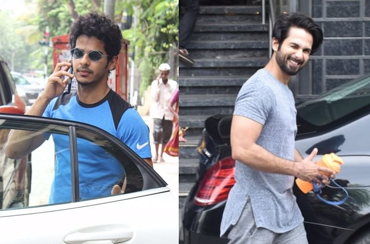 Have you seen these pictures of Shahid Kapoor, Ishaan Khatter and other B-town celebs?