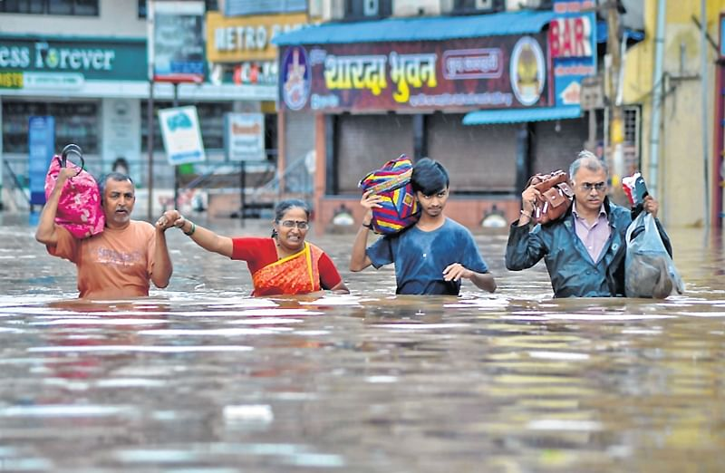 Maharashtra: Stay in water for 2 days to avail of relief