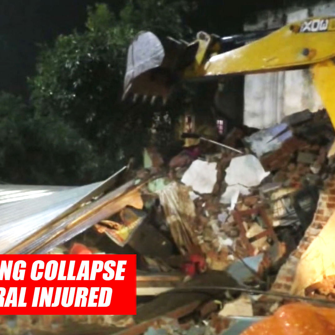 Nadiad Building Collapse: 4 Dead, Several Injured