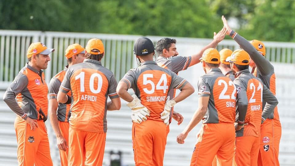 Brampton Wolves defeated Winnipeg Hawks by seven wickets in the ongoing Global T20 Canada