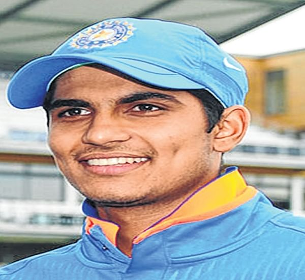 Shubman Gill in focus