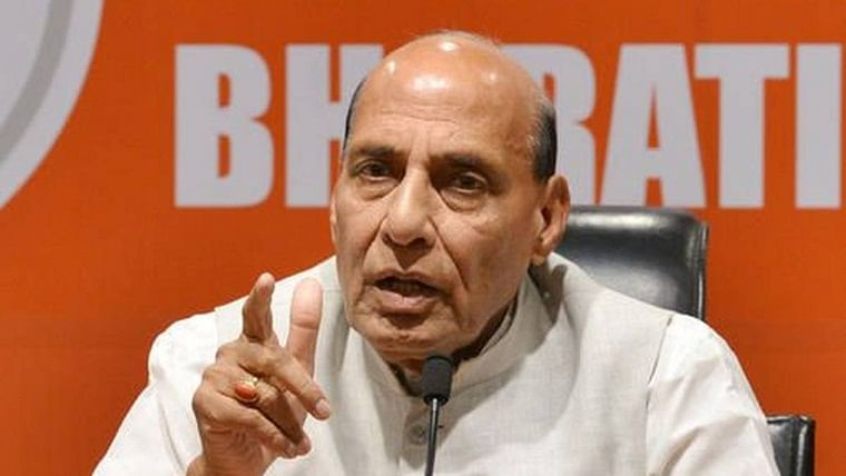 Pakistan continuously keeping sinister eye on Jammu and Kashmir: Defence Minister Rajnath Singh