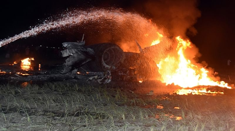Sukhoi aircraft crashes near Tezpur, pilots eject safely