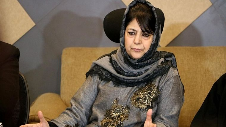 Former Jammu and Kashmir Chief Minister Mehbooba Mufti