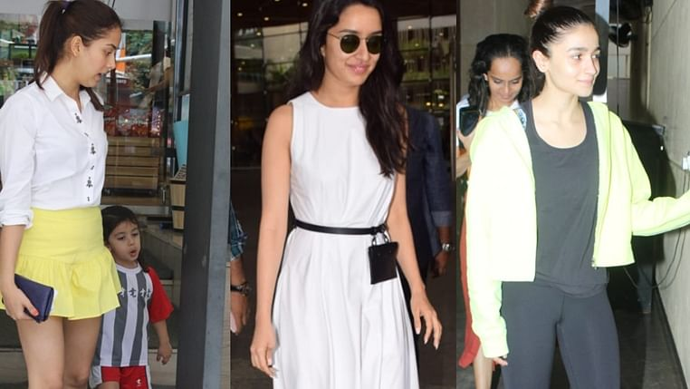 Have you seen these pictures of Alia Bhatt, Shraddha Kapoor, Mira Rajput Kapoor?