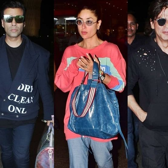 Have you seen these pictures of Karan Johar, Kareena Kapoor, Shah Rukh Khan and others?