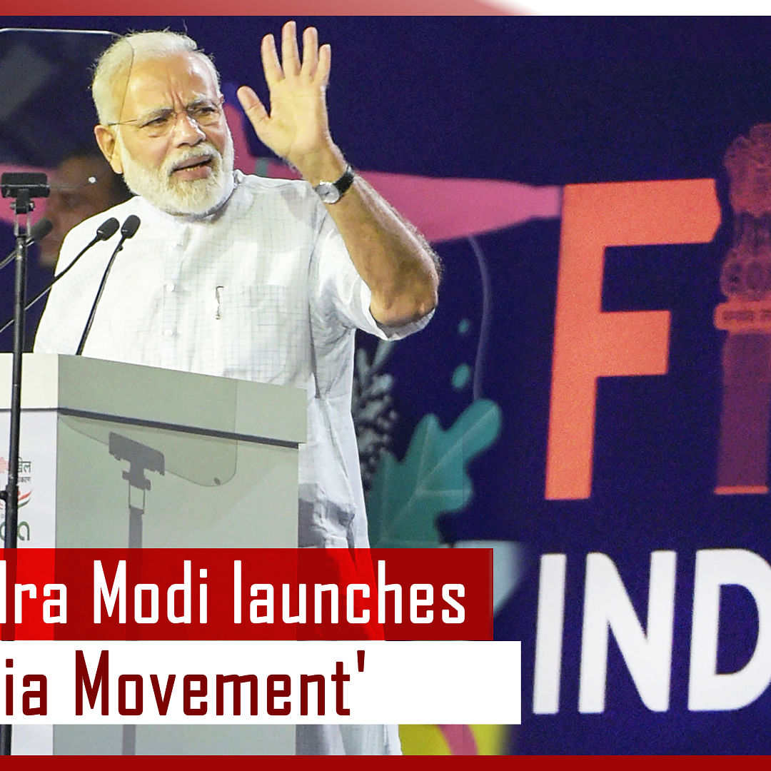 PM Narendra Modi Launches 'FIT India Movement', Says It Will Lead India Towards Healthy Future