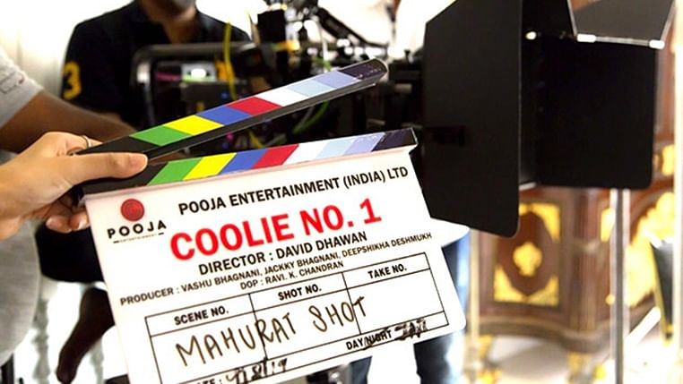 Coolie No 1: Varun Dhawan's mom gives mahurat clap for the remake
