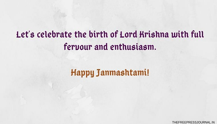 Krishna Janmashtami 2019: Wishes, greetings, images to share on SMS, WhatsApp, Facebook and Instagram