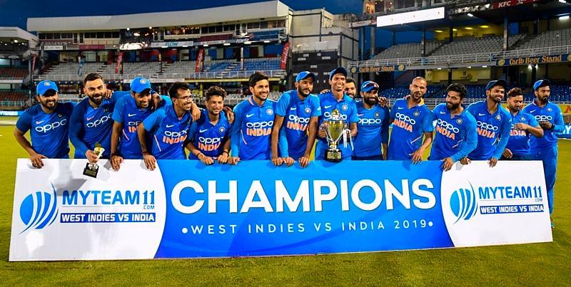 Virat Kohli leads India to series win with 43rd ODI hundred