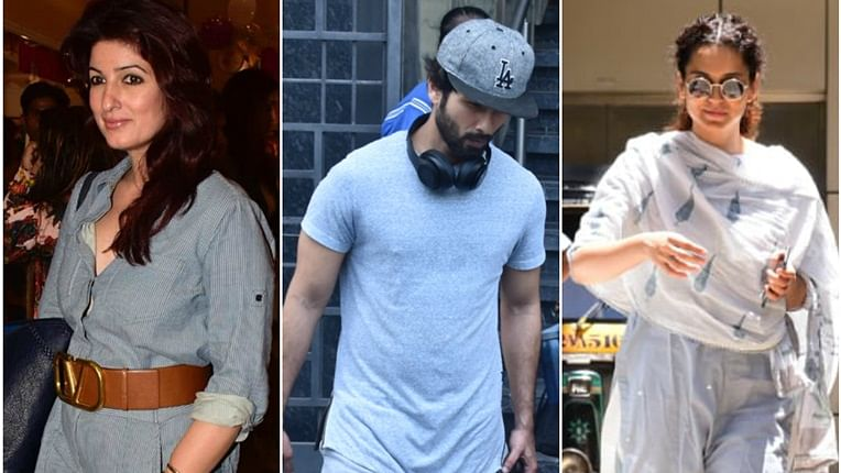 Celebrity Spotting: Kangana Ranaut, Twinkle Khanna and others spotted around Mumbai