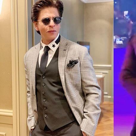 Watch Shah Rukh Khan twerk to 'Apna Time Aayega' with special kids in Melbourne