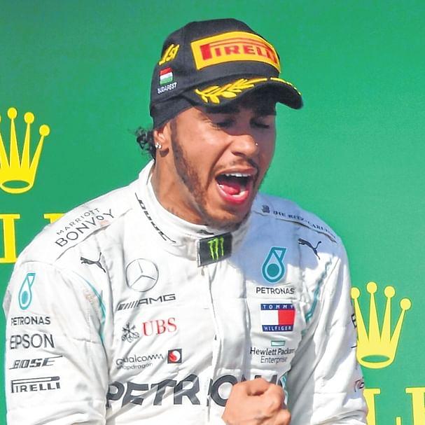 Hungarian Grand Prix: Lewis Hamilton takes last-gasp
