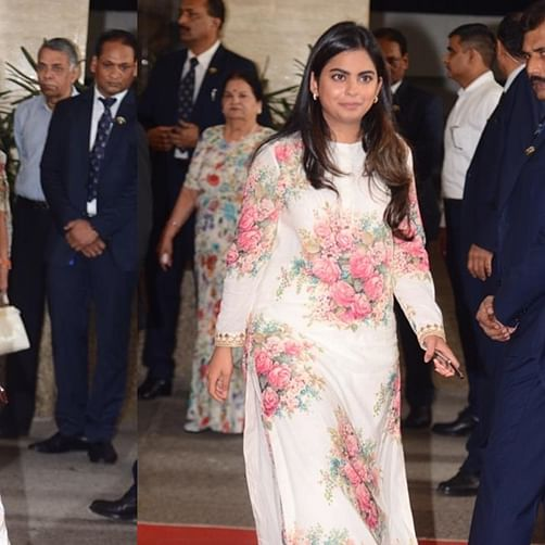 Isha Ambani dazzles in Sabhyasachi's Winter 2019 collection for Reliance Industries AGM