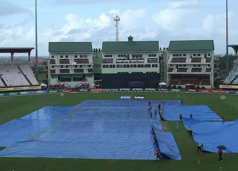 India vs West Indies 1st ODI washed out due to rain after 13 overs