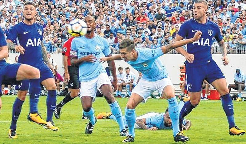 Manchester City seek Spurs revenge