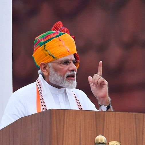 Independence Day: PM Modi talks about Kashmir, pushes for population control measures, 'one-nation one-election'