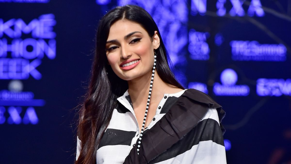 It would be a lot of fun: Athiya Shetty on working with dad Suniel Shetty