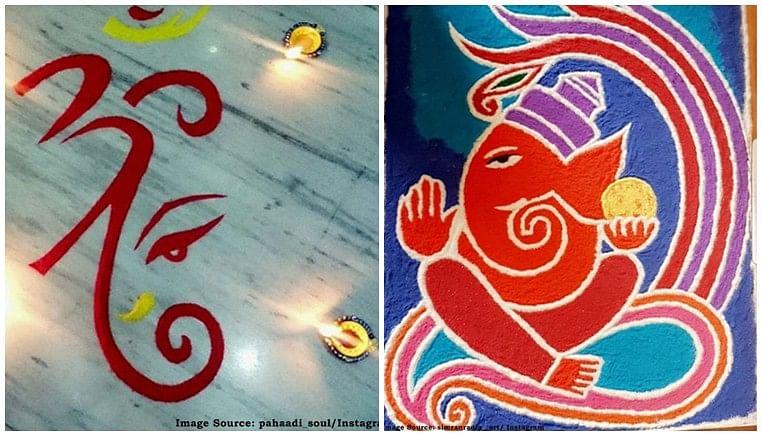 Ganesh Chaturthi 2019: 7 quick and simple Ganpati rangoli designs to enhance your festive decoration