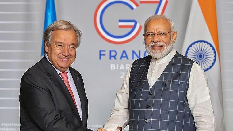NSG membership crucial for growth of nuclear power: PM Narendra Modi tells UN secretary general
