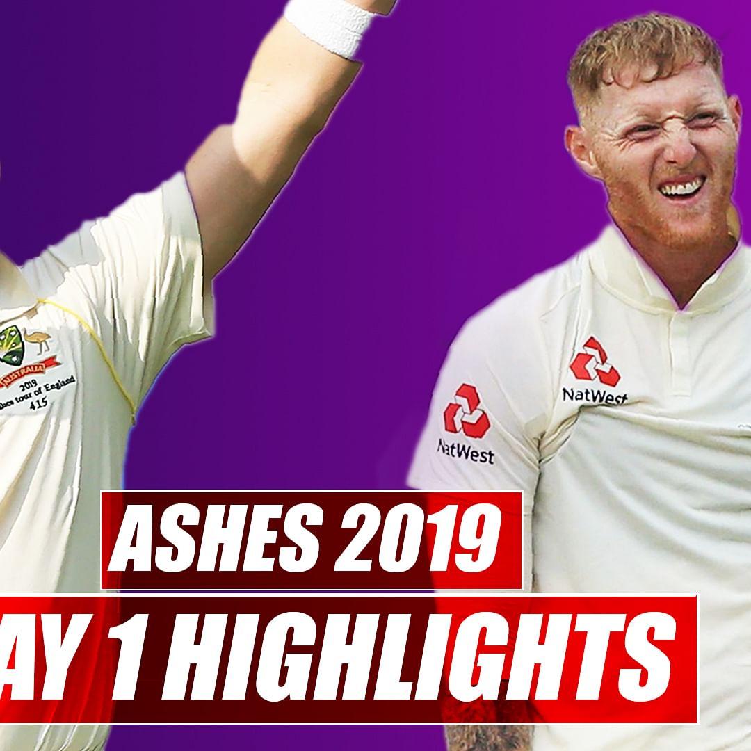 Ashes 2019 Day 1 Highlights | Australia vs England 1st Test: Australia Scores 284 On First Day